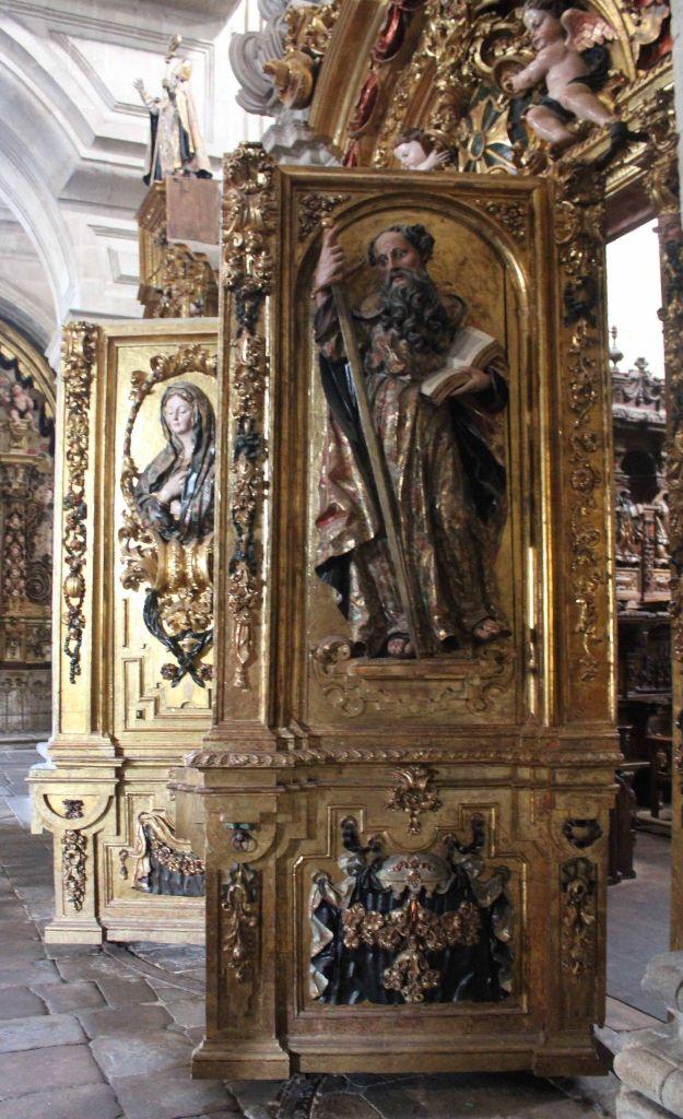 Puertas del coro - Monasterio de San Salvador de Celanova