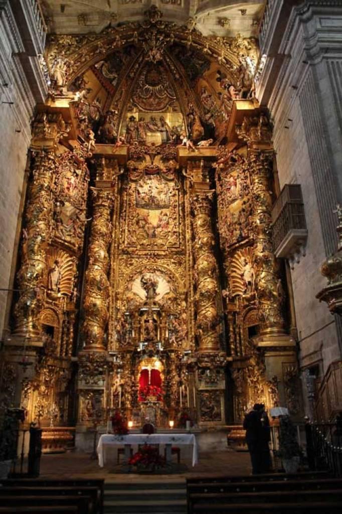 retablo - Monasterio de San Salvador de Celanova