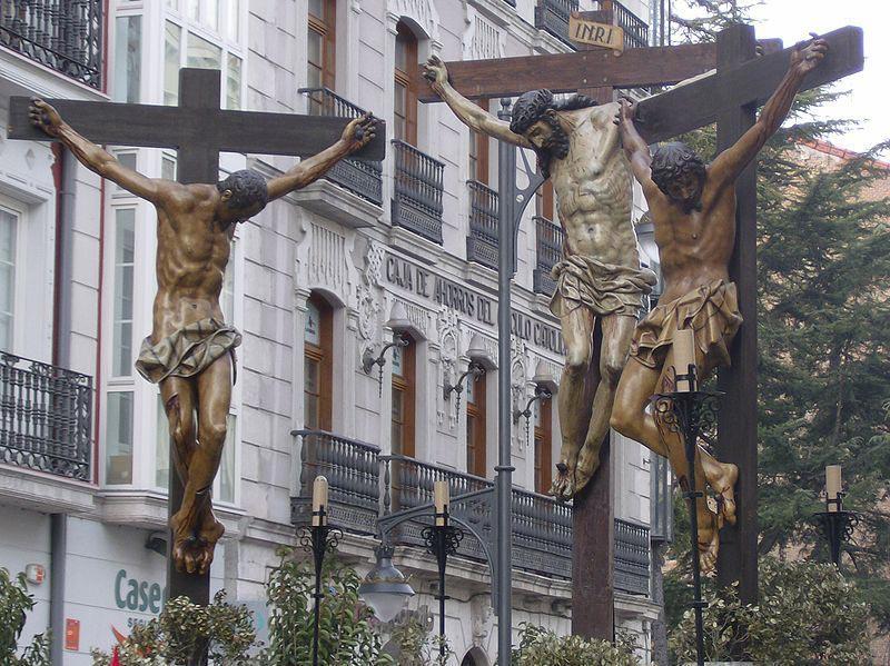 En tus manos encomiendo mi alma. Cristo de las Mercedes. Pompeyo Leoni.