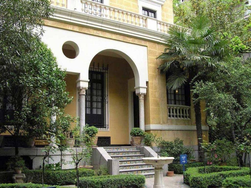 La fachada del Museo Sorolla en la Actualidad