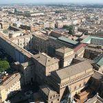 Vista Aérea de los Museos Vaticanos