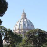 Vista de la cúpula de San Pedro