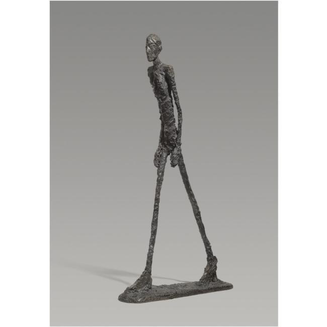 Hombre que camina I, 1960. Fundation Marguerite y Aimé Maeght