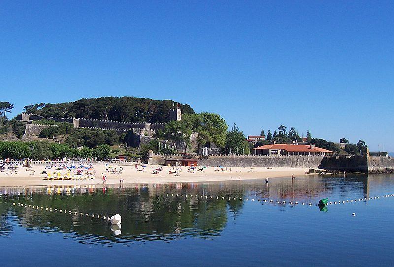 Praia de Ribeira, Baiona. Foto: HombreDHojalata.