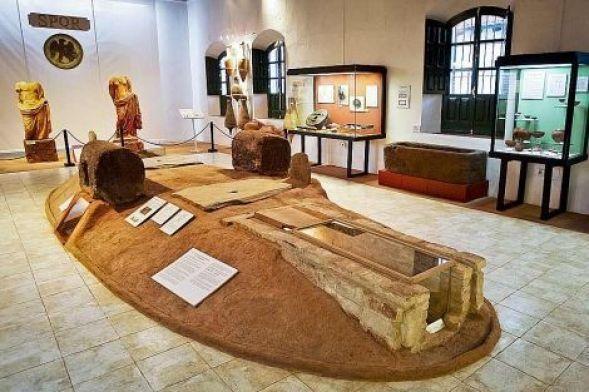 Sala del Museo Minero de Riotinto
