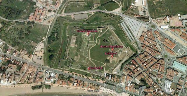 Mapa ruta Ciutadella Roses