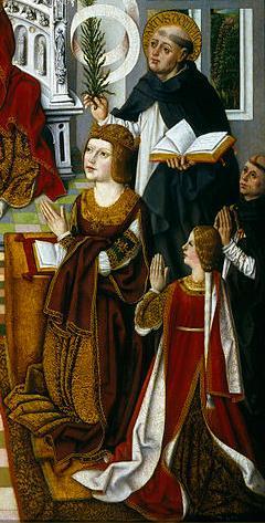 La Virgen de los Reyes Católicos.