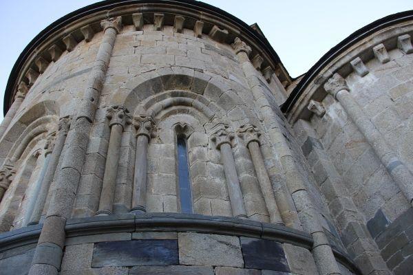 Detalle del Ábside del Monasterio