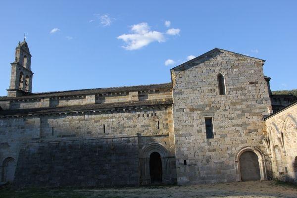 Vista de la fachada sur