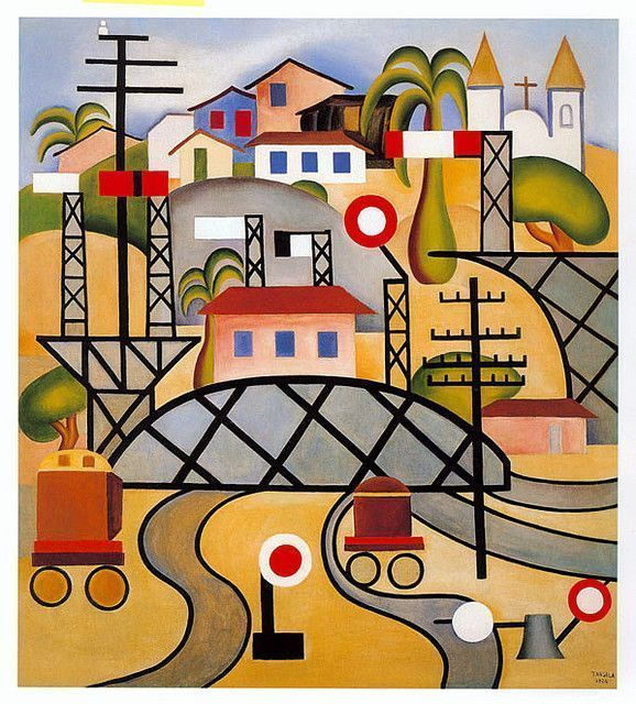 Estaçao Central do Brasil - Tarsila do Amaral