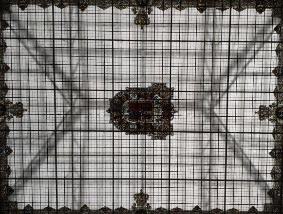 cristalera del museo geominero