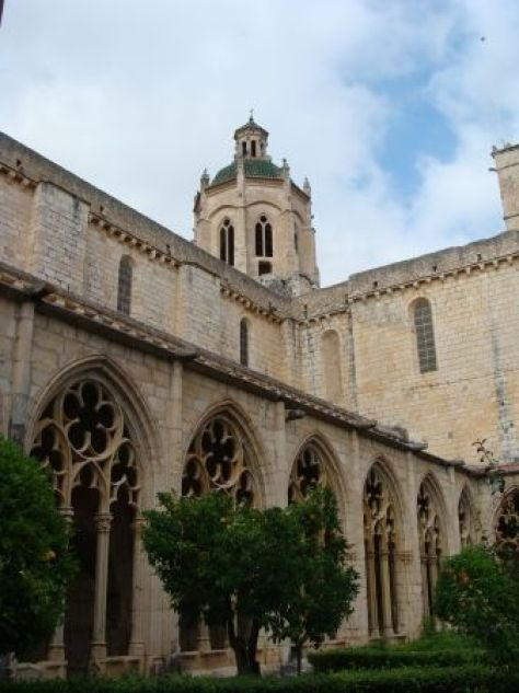 Claustro del Monasterio de Santes Creus.