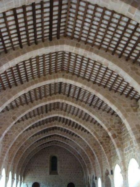 Dormitorio del Monasterio de Santes Creus.