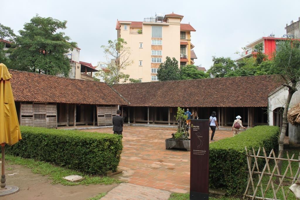 Casa rural Viet, Museo Etnológico de Hanoi, Vietnam.