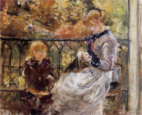 Berthe Morisot, El balcón, 1882