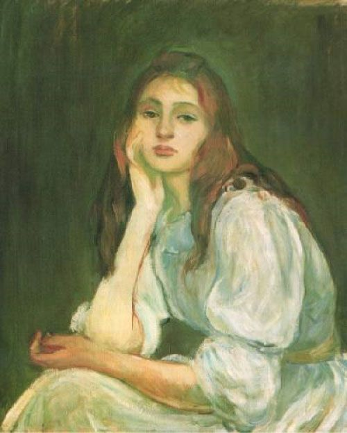 Berthe Morisot, Julie Manet pensativa, 1894