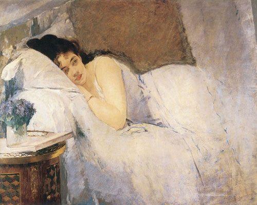 Eva Gonzalès, El despertar, 1878