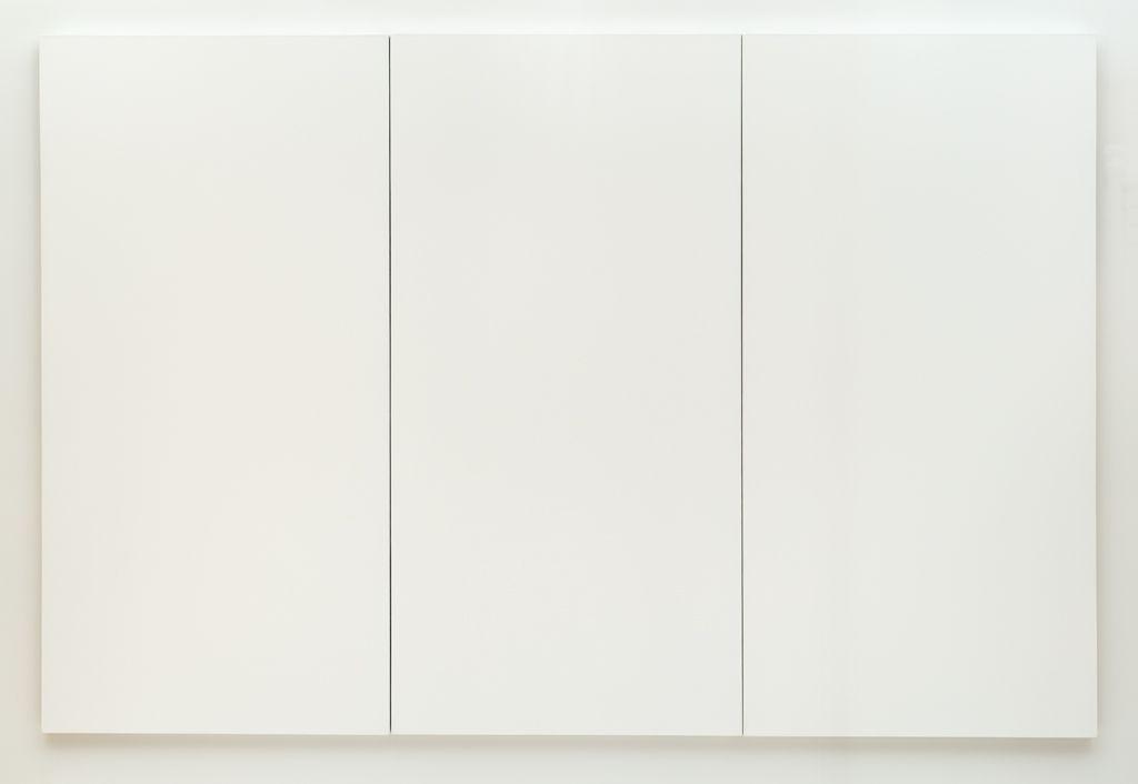 Robert Rauschenberg, White Painting, 1951, SFMoMA.