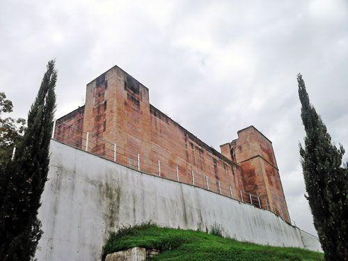 Vista del Castillo de Cartaya.
