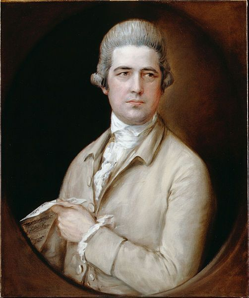 Gainsborough, Thomas Linley The Elder, c.1760.