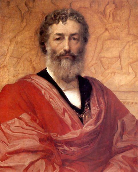 Frederic Lord Leighton, Autorretrato, 1880.