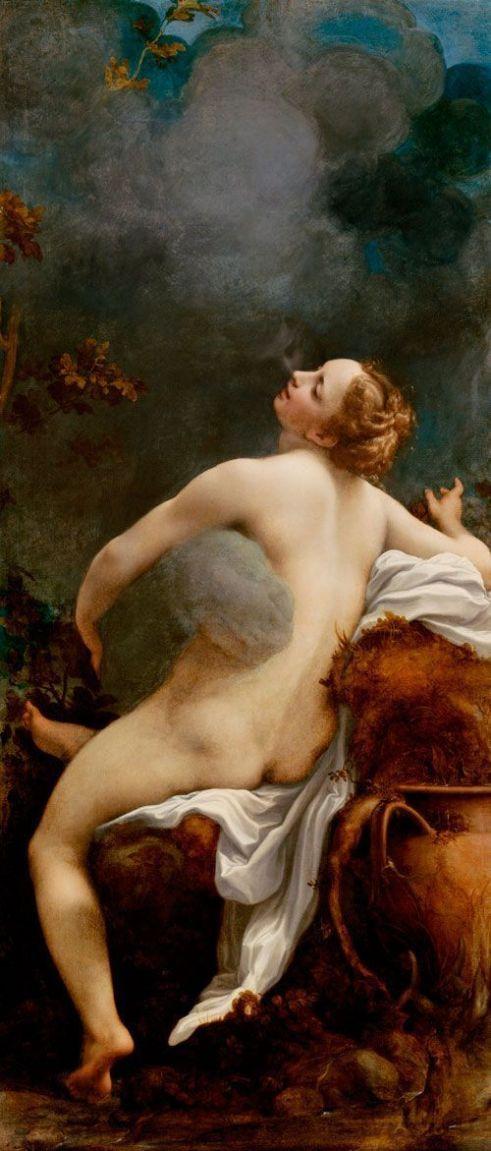 Correggio Júpiter e Io