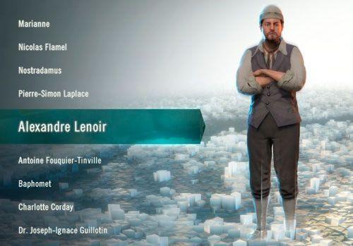 Alexandre Lenoir - Assansin´s Creed Unity.