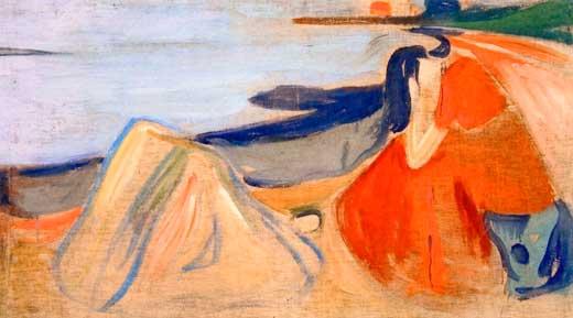 Edvard Munch, Melancolía, 1906.