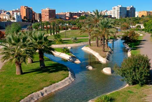De los jardines del turia al cac valencia croma cultura - Jardin del turia valencia ...