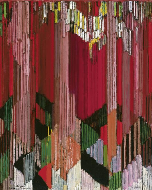 Frantisek Kupka, Estudio para el lenguaje de las verticales, 1911, Museo Thyssen-Bornemisza, Madrid.