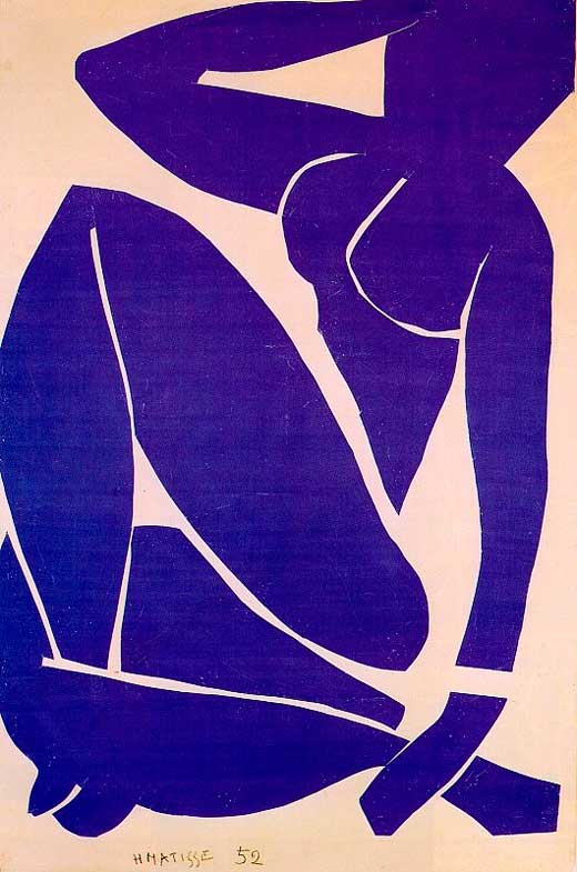 matisse desnudo azul III