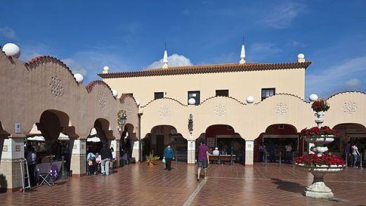 José Enrique Marrero Regalado, Mercado Nuestra Señora de África, 1944, Santa Cruz de Tenerife.