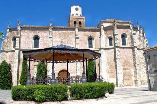 Iglesia de Santa María la Mayor, Villa de Coca, Segovia.