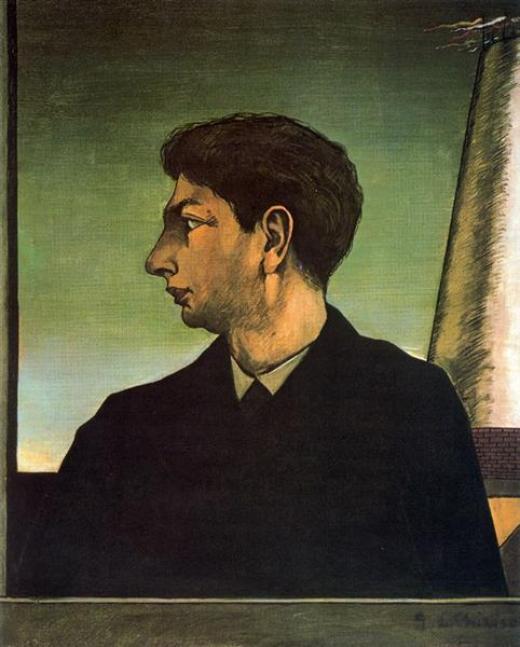 Giorgio de Chirico, Autorretrato, 1913.
