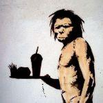 banksy caveman