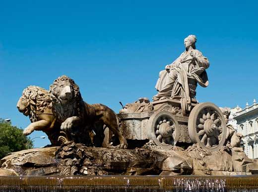 Fuente de Cibeles, Madrid.