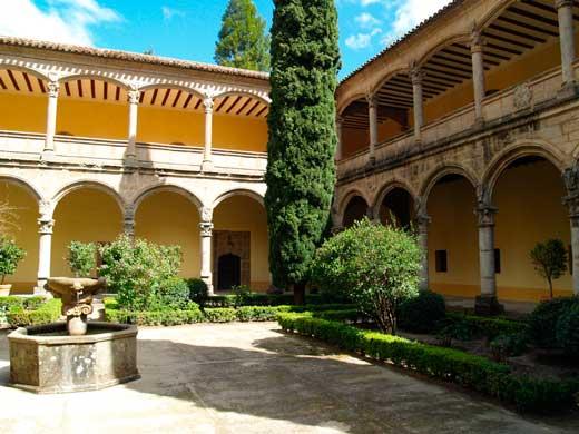 Monasterio de Yuste, provincia de Cáceres.