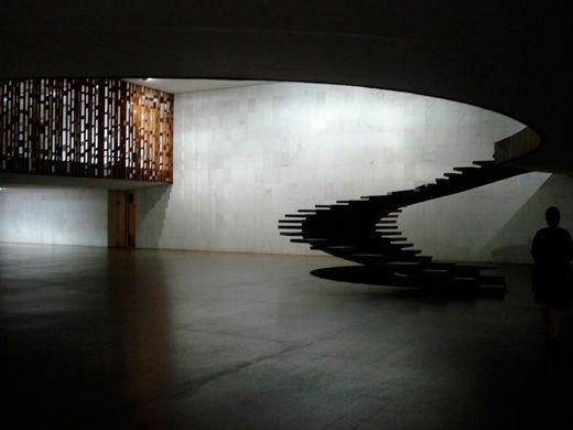 Escalera del Palacio de Itamaraty.