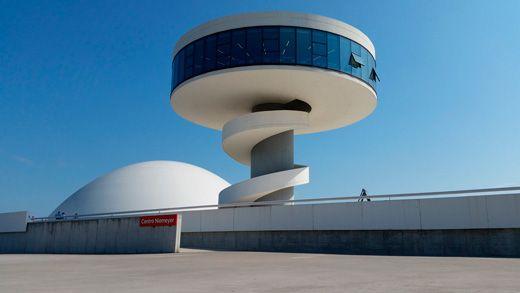 Oscar Niemeyer, Centro Niemeyer, Avilés, Asturias.