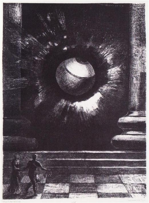Odilon Redon, Vision, 1879.
