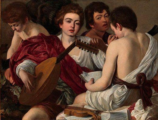 Caravaggio los músicos