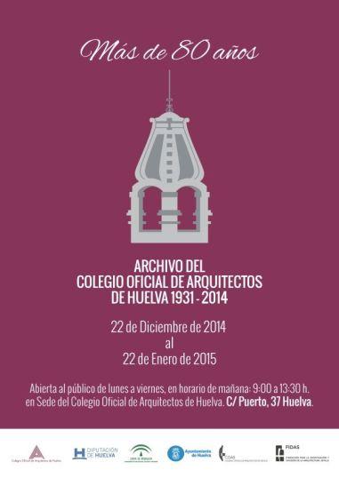 Cartel exposicion Huelva