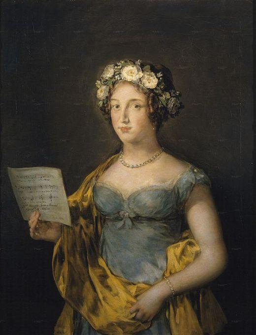 Retrato de la Duquesa de Abrantes