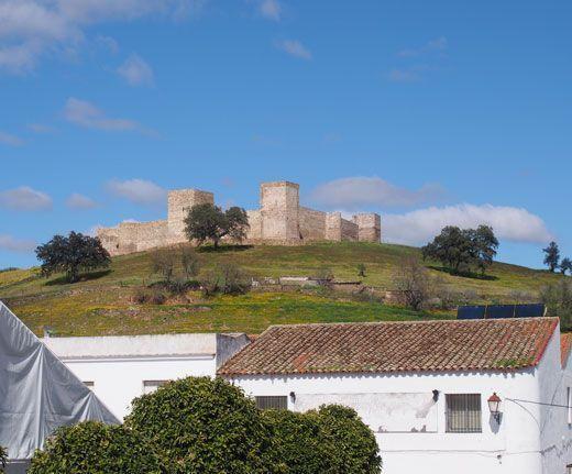 Vista del Castillo del Real de la Jara.