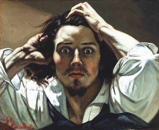 Autorretrato Gustave Courbet