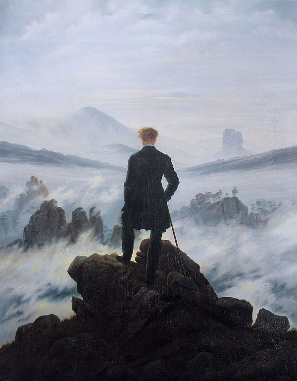 Friedrich - Viajero frente a un mar de nubes
