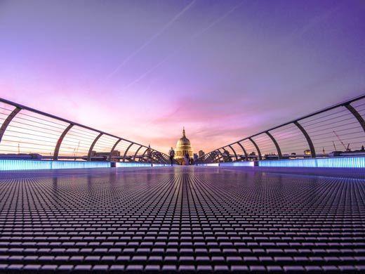 Tate Modern, Puente del Milenio