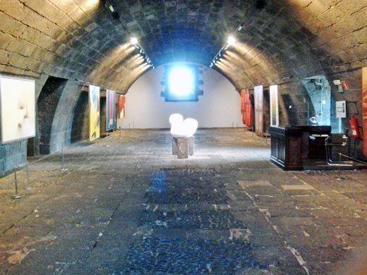 Sala de exposiciones de la colección permanente
