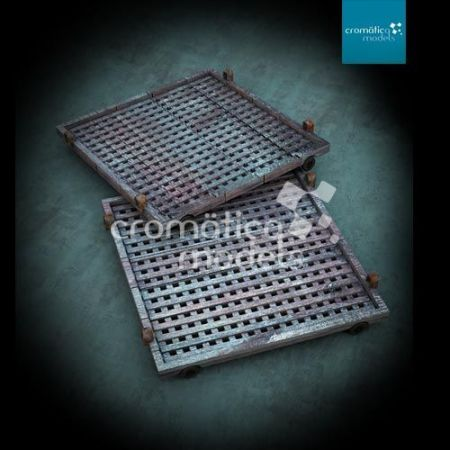 CM-35010 Industrial wheeled Cargo Platforms