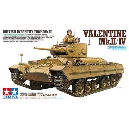 Tamiya 35352 · British Infantry Tank Mk.III Valentine Mk.II/IV